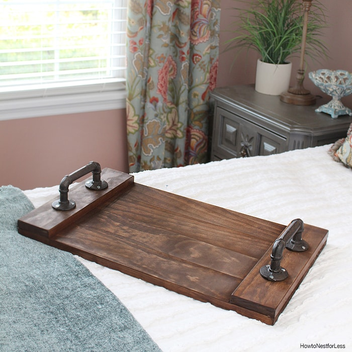 Diy Stained Wood Tray How To Nest For Less