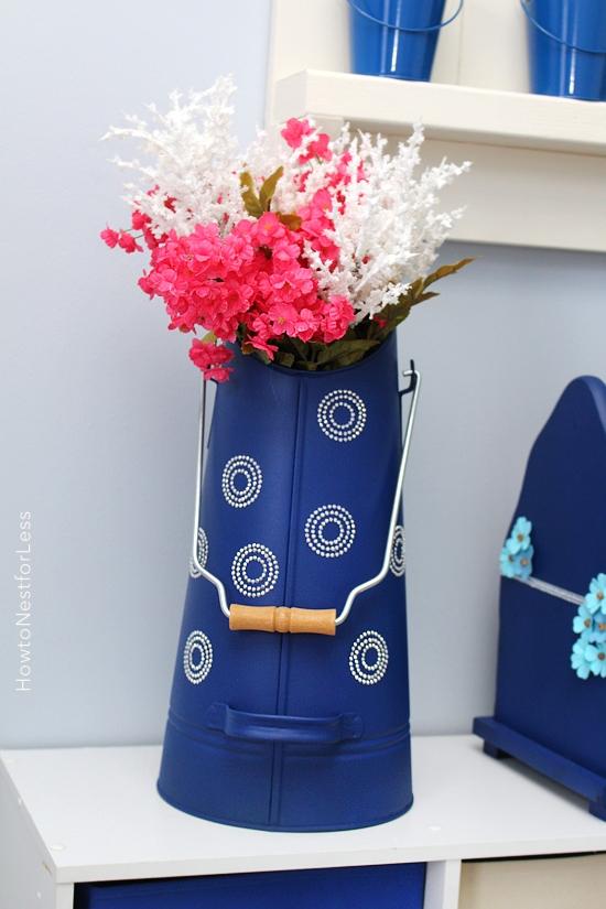 DIY painted vase