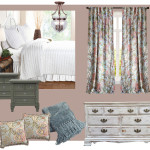 Guest Bedroom Mood Board + Paint