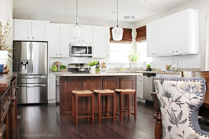 dark-island-white-cabinets-kitchen-
