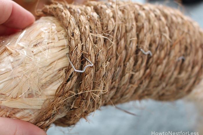 rope nautical wreath tutorial