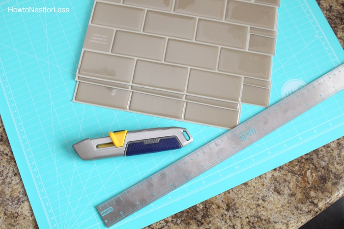 smart tiles backsplash tutorial