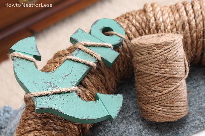 wreath rope nautical