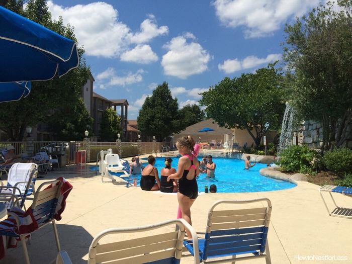 branson swimming pool