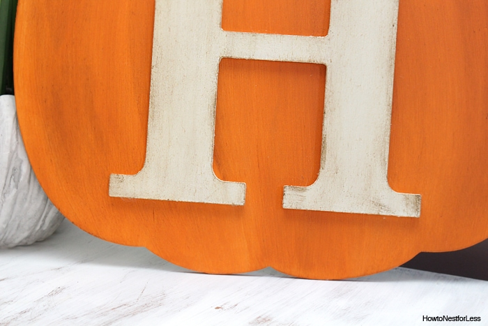 DIY fall pumpkin craft