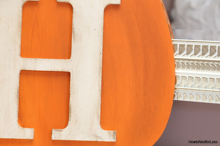 autumn pumpkin monogram