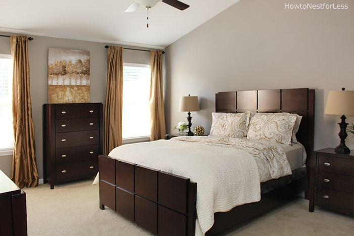 before and after bedroom makeovers s master bedroom makeover how to nest for less 18232