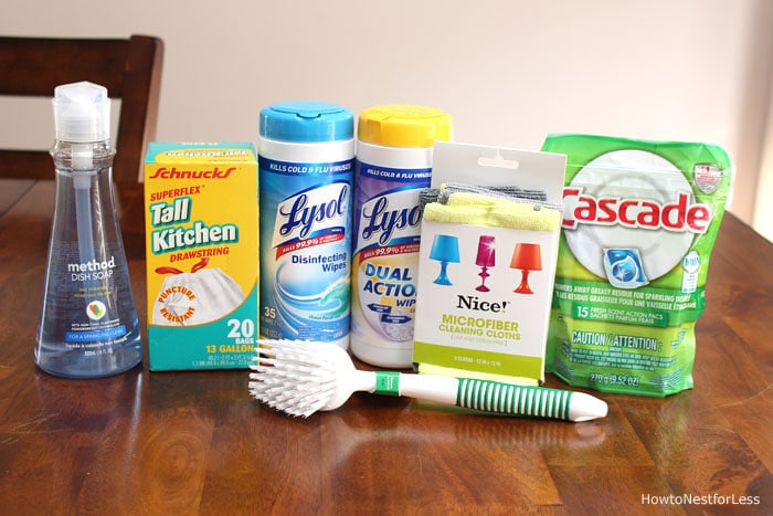 cleaning supplies housewarming gifts