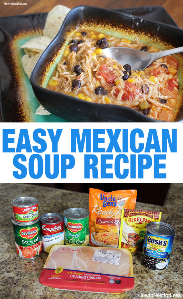 easy mexican soup recipe
