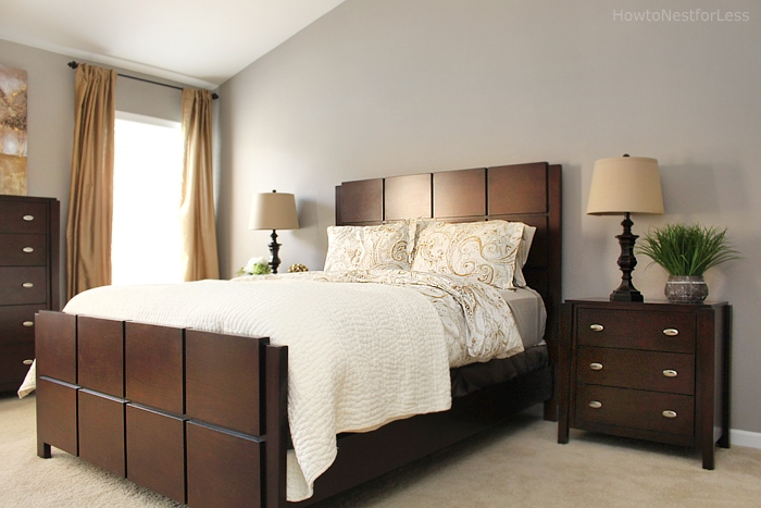 brothers bedroom makeover Alright  guess I better get back to moving   right  I m taking the rest of the week off to focus on unpacking boxes. Brother s Master Bedroom Makeover   How to Nest for Less