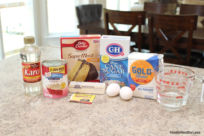 cherry coffee cake ingredients