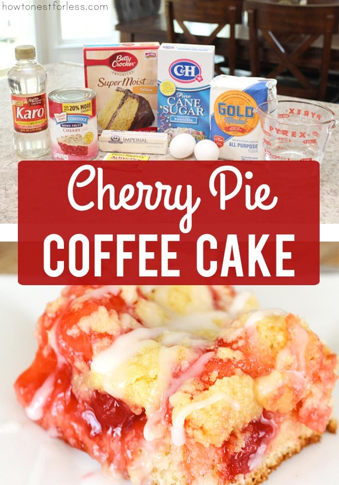 Cherry Pie Coffee Cake