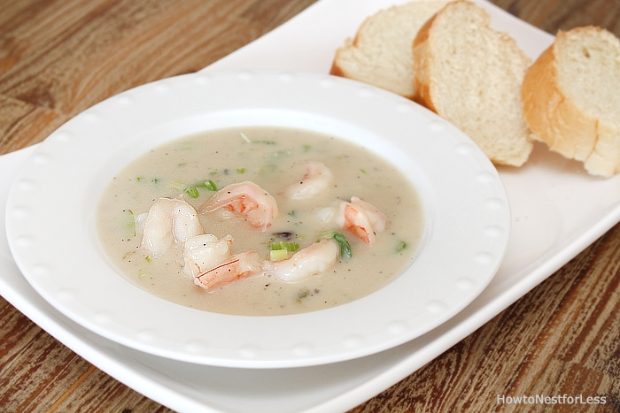 easy shrimp bisque recipe