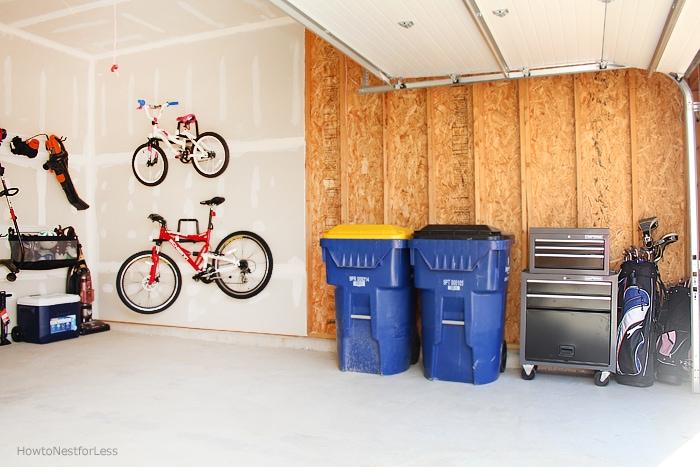 garage organization budget