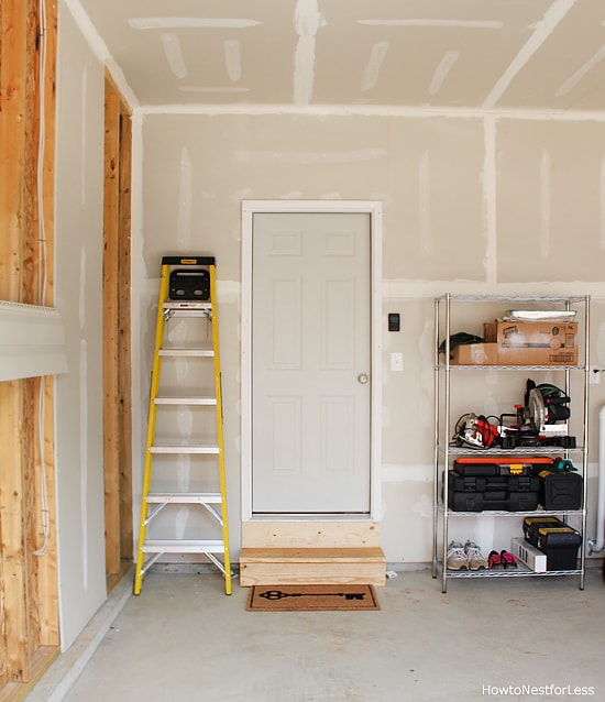 garage organization on a budget