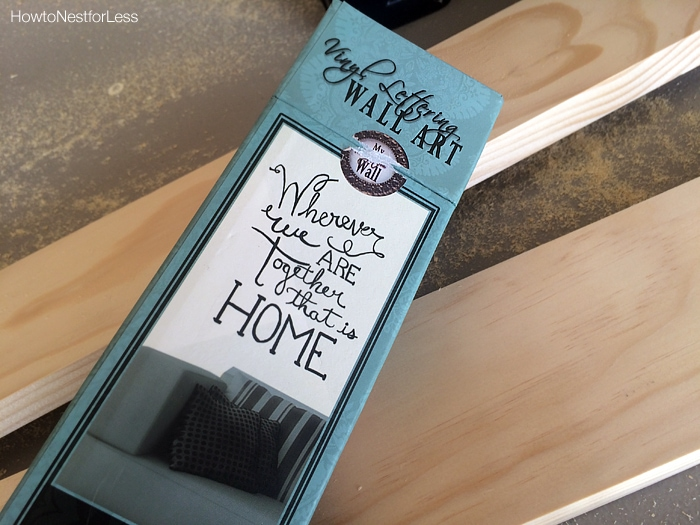 quote vinyl wood sign supplies