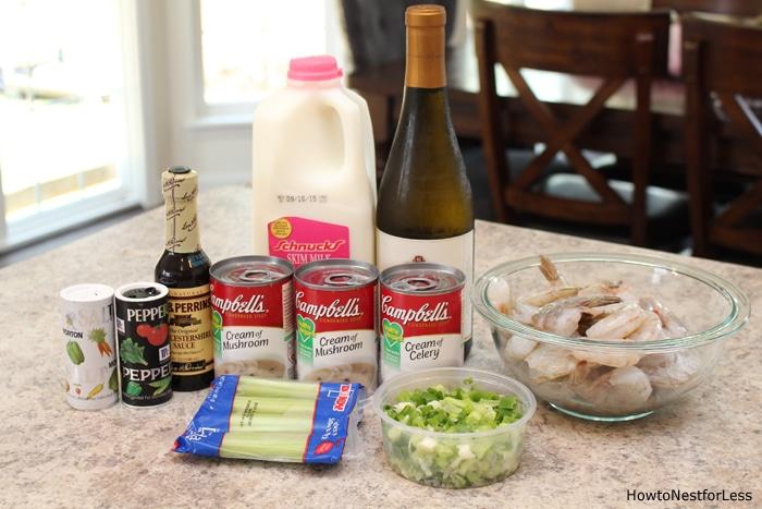 shrimp bisque ingredients