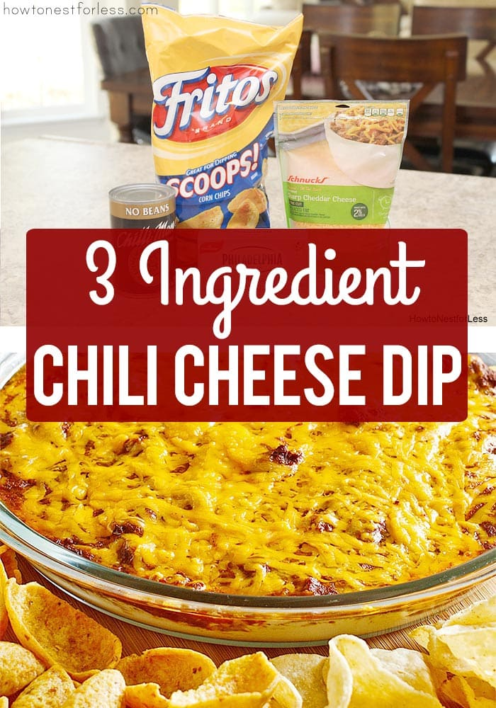 Chili Cheese Dip poster.