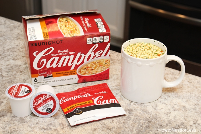 Campbells fresh brewed soup