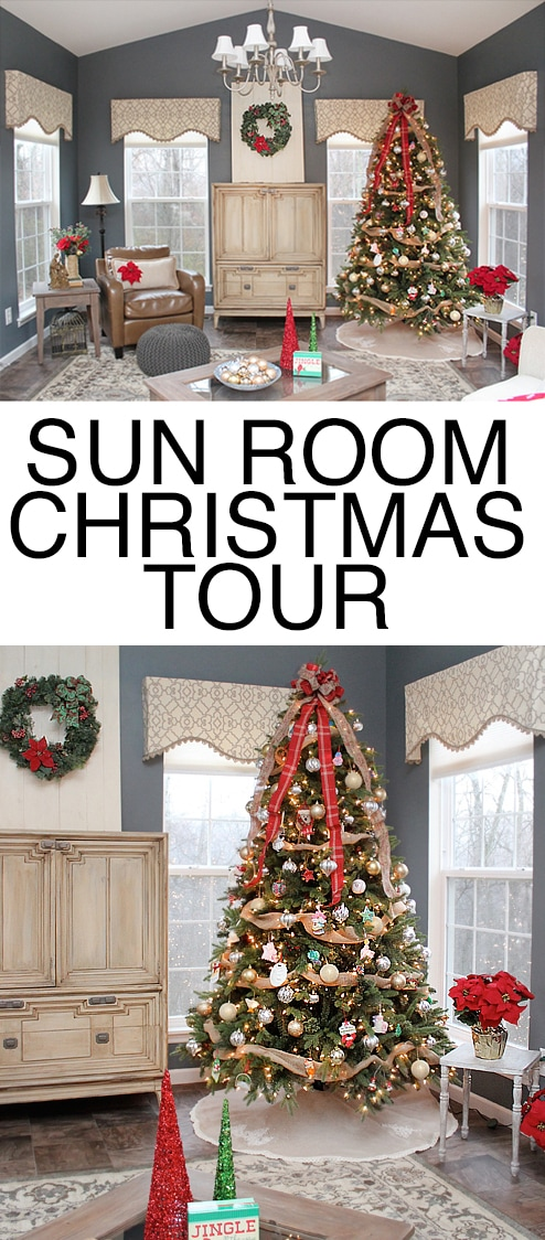 SUN ROOM CHRISTMAS TOUR