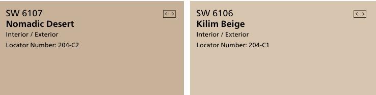 SW interior paint colors