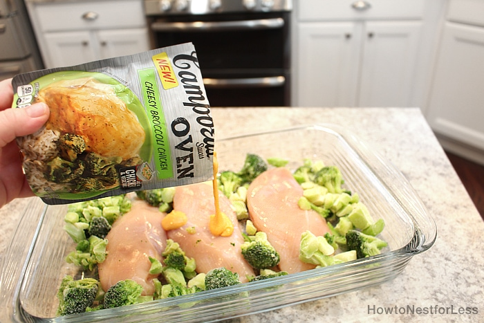 4 Ingredient Broccoli Chicken Dinner - How To Nest For Less-8115