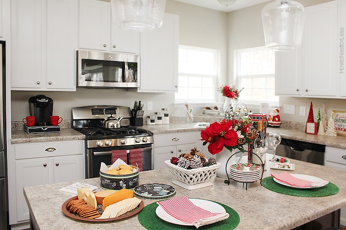 Christmas Party Kitchen At Home How To Nest For Less