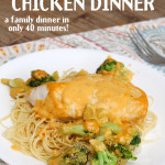 4 Ingredient Broccoli Chicken Dinner