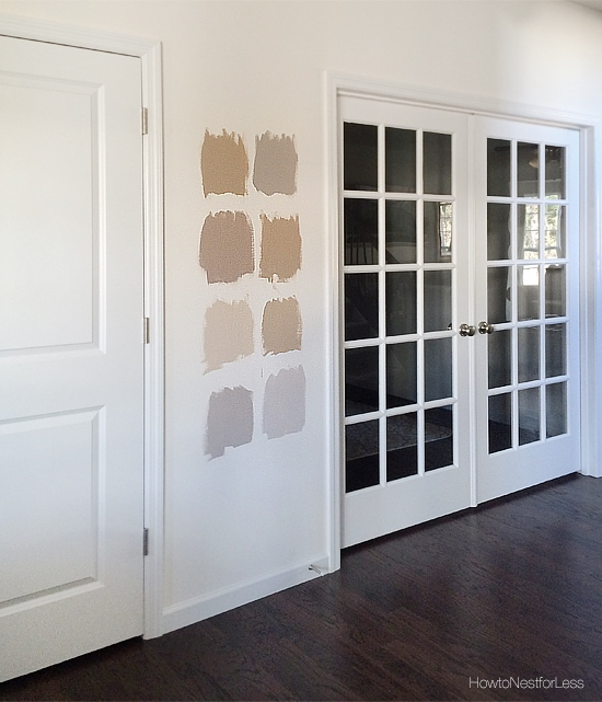 Picking paint how to nest for less for How to pick out paint colors for interior