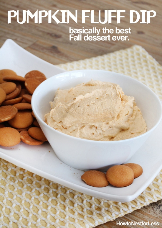 pumpkin fluff dip recipe