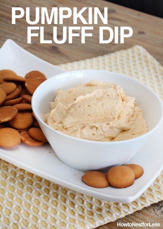 pumpkin fluff dip - recipe