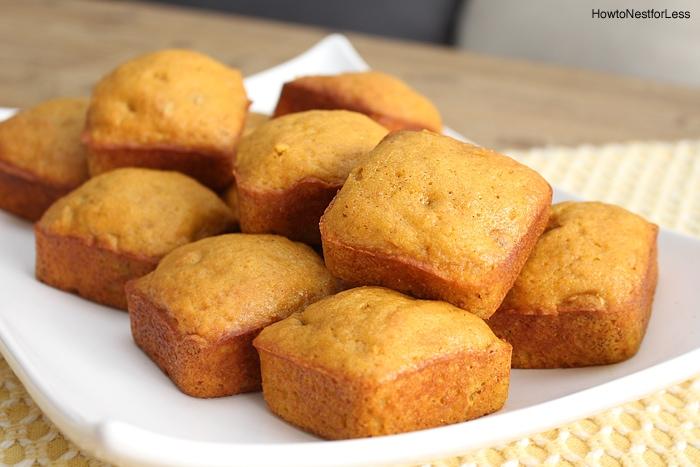pumpkin mini cake recipe