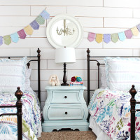 Girl Cottage Bedroom Makeover