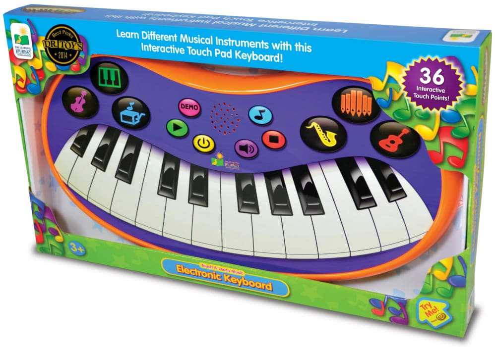 The Learning Journey Touch & Learn - Electronic Keyboard