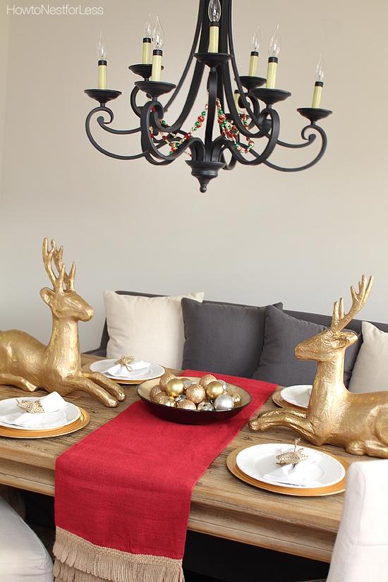 christmas dining room decor