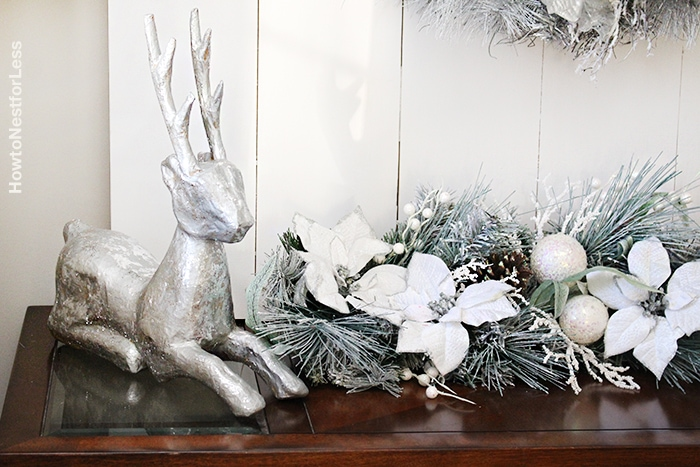 christmas foyer entry ideas