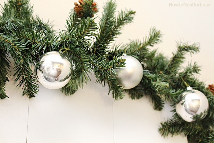 christmas foyer entry