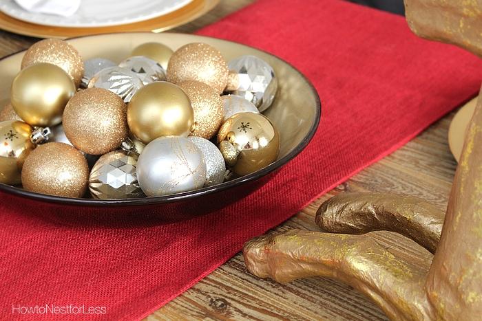 christmas ideas dining room