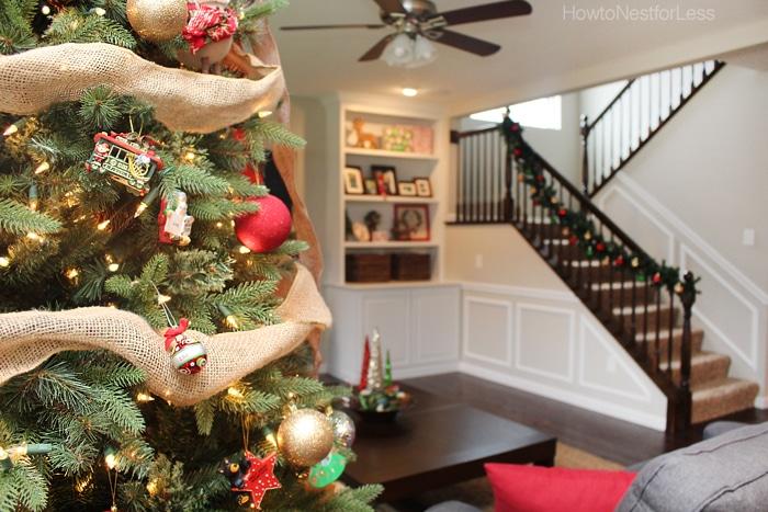 christmas tree family room