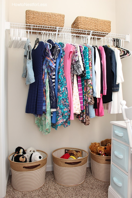 kids walk in closet