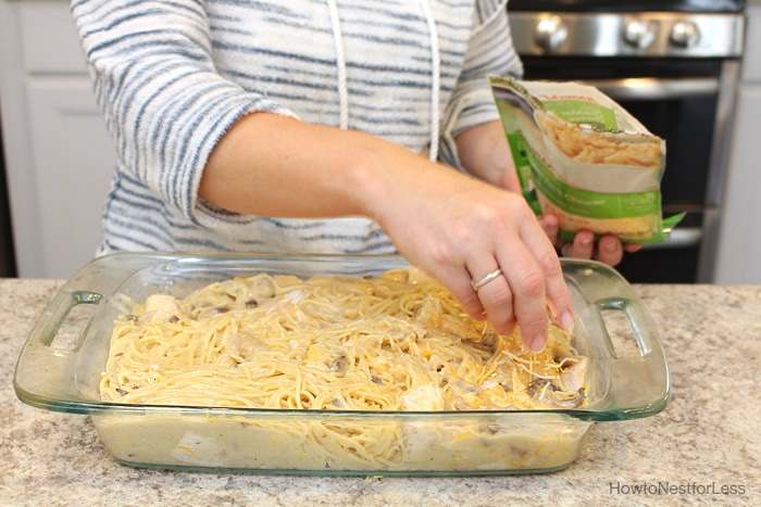 recipe chicken spaghetti bake