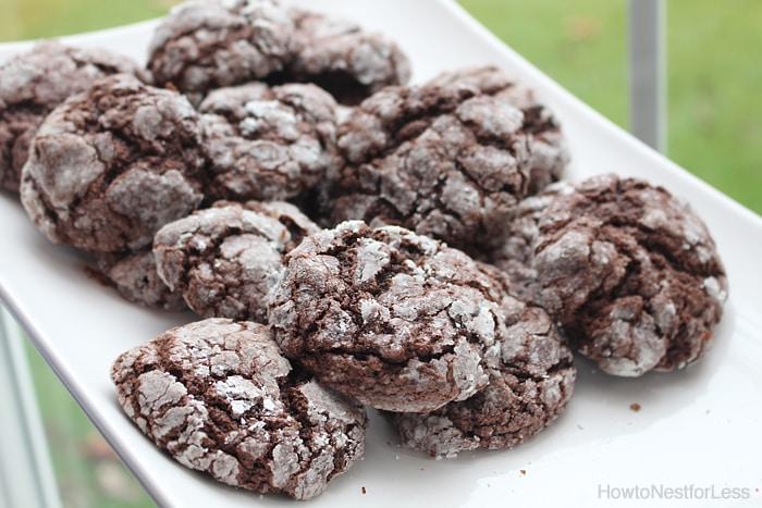chocolate gooey butter cookies recipe