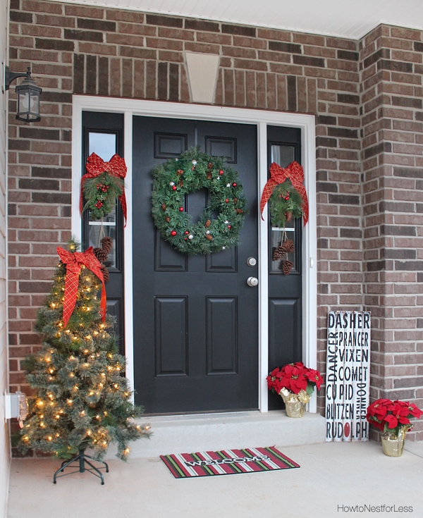 Porch Pictures For Design And Decorating Ideas: Christmas And Holiday Decorations