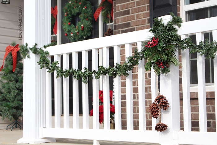 christmas front porch decorations