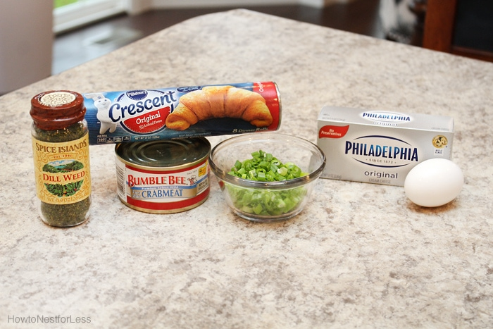 crab cream cheese appetizer ingredients