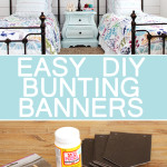 Easy DIY Bunting Banners