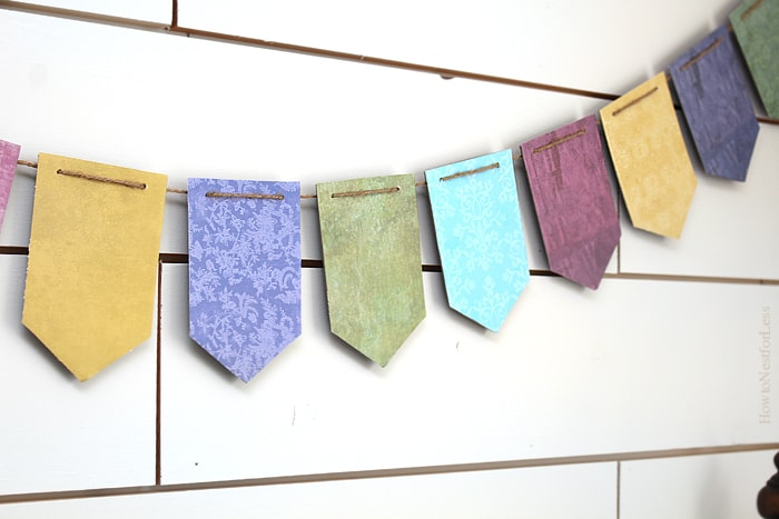 make your own bunting banner