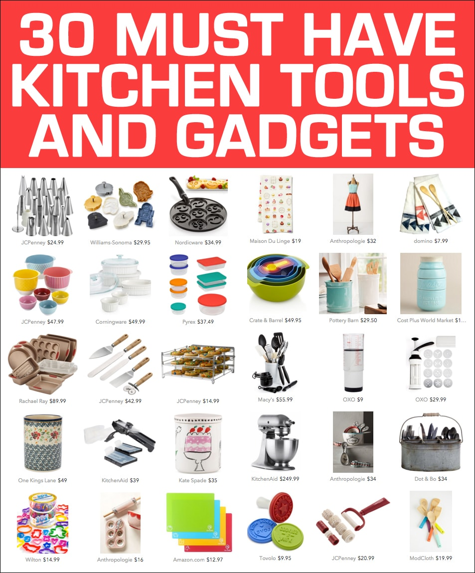 30 Awesome Kitchen Tools and Gadgets