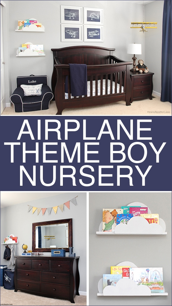 airplane boy nursery
