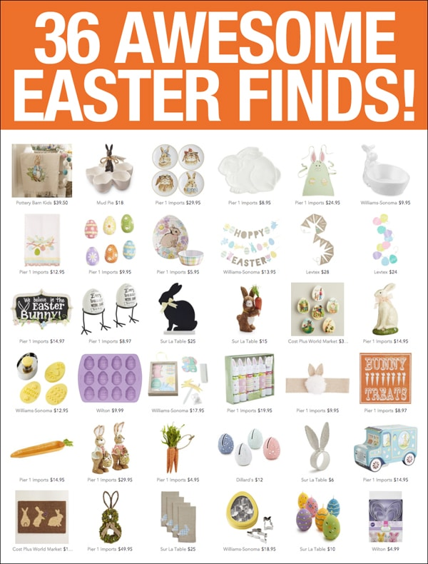 awesome easter decorating finds